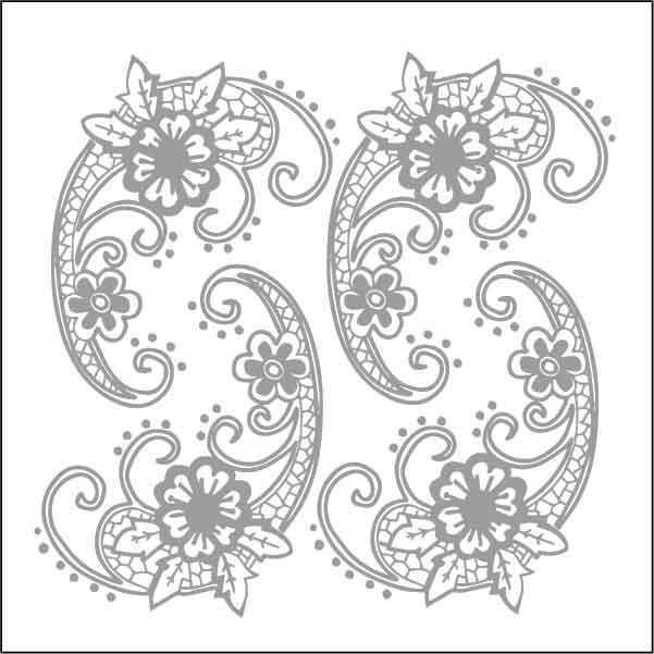 artebella 7305 silver kolay transfer 16x16 cm 598757 13 B