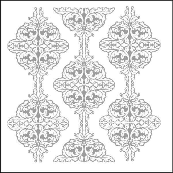artebella 7310 silver kolay transfer 16x16 cm 605829 13 B -Artebella Art & Craft Hobi ve Sanat Ürünleri