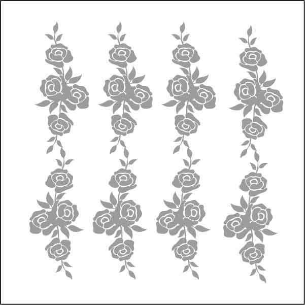 artebella 7311 silver kolay transfer 16x16 cm 605827 13 B -Artebella Art & Craft Hobi ve Sanat Ürünleri