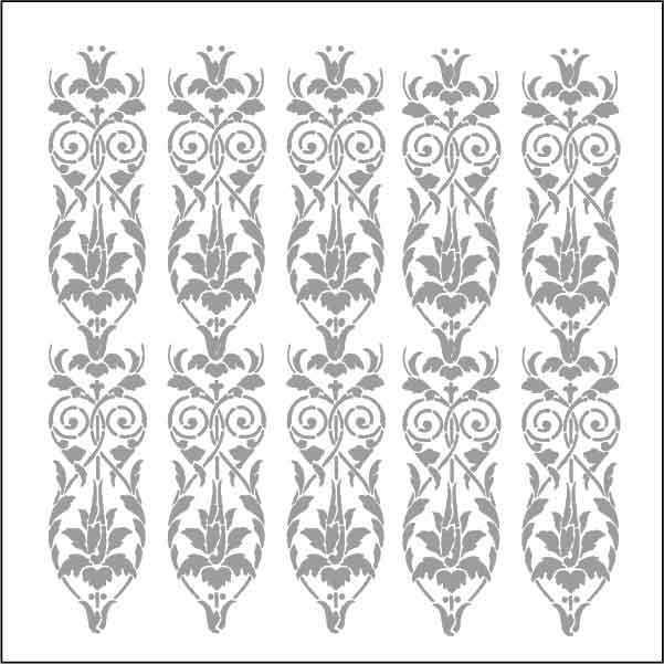 artebella 7312 silver kolay transfer 16x16 cm 605825 13 B -Artebella Art & Craft Hobi ve Sanat Ürünleri