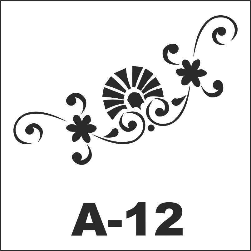 artebella a 12 stencil a serisi 18x18 cm 605144 19 B