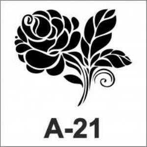 artebella a 21 stencil 18x18 cm 605559 33 B