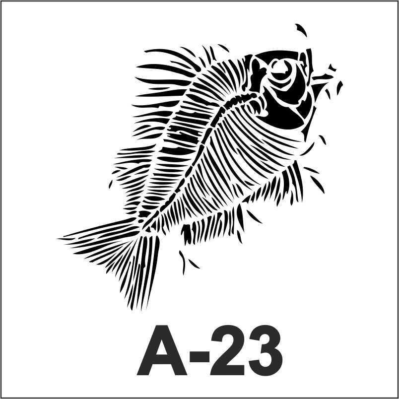 artebella a 23 stencil 18x18 cm 596753 33 B