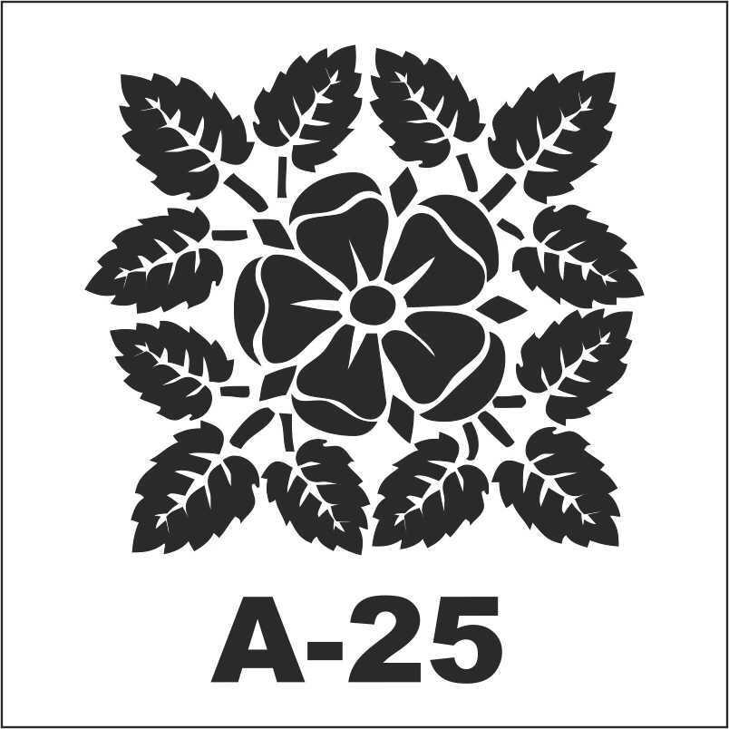 artebella a 25 stencil a serisi 18x18 cm 610587 30 B -Artebella Art & Craft Hobi ve Sanat Ürünleri
