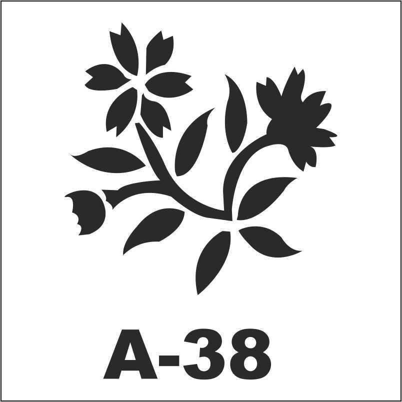 artebella a 38 stencil a serisi 18x18 cm 596205 43 B -Artebella Art & Craft Hobi ve Sanat Ürünleri