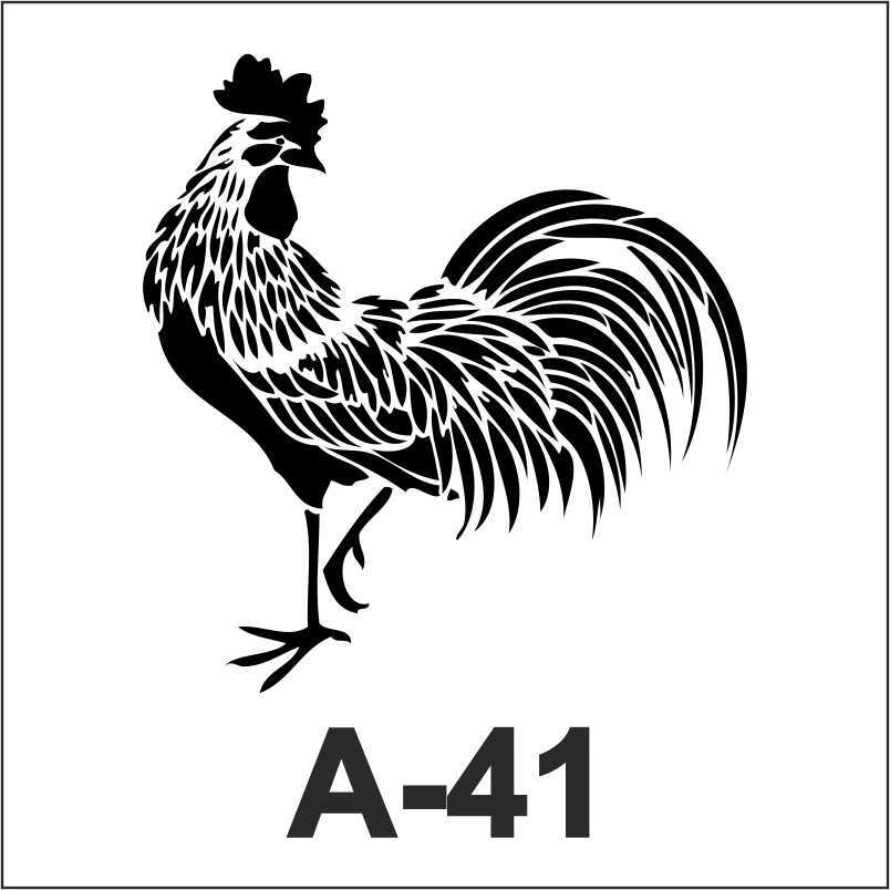 artebella a 41 stencil a serisi 18x18 cm 605214 11 B -Artebella Art & Craft Hobi ve Sanat Ürünleri