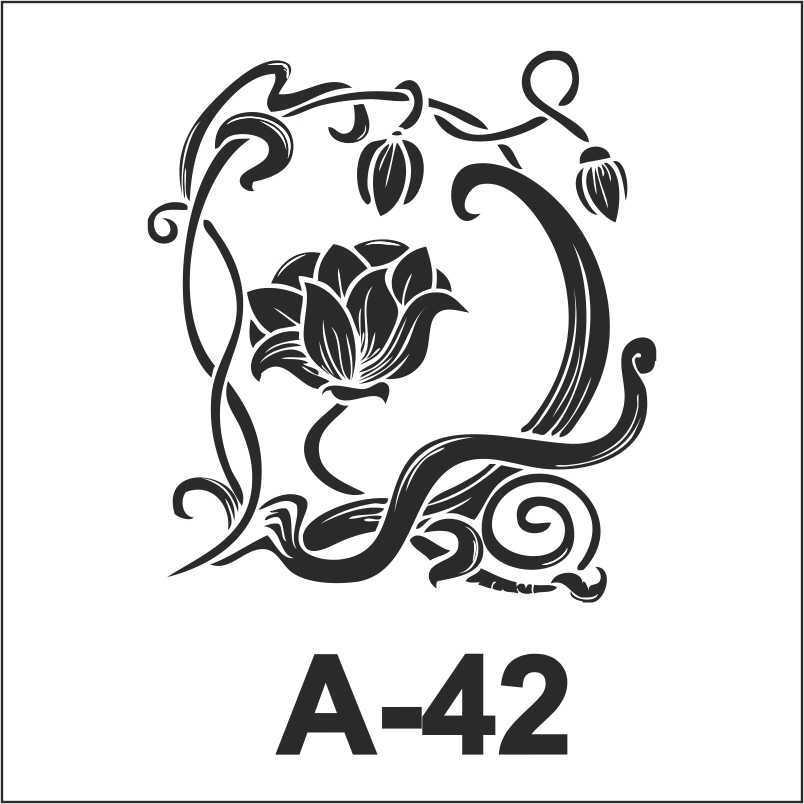 artebella a 42 stencil a serisi 18x18 cm 596167 12 B -Artebella Art & Craft Hobi ve Sanat Ürünleri