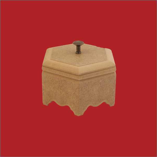 artebella ahsap mdf altigen ayakli kutu 20x17x9 cm akt44 593522 13 B -Artebella Art & Craft Hobi ve Sanat Ürünleri
