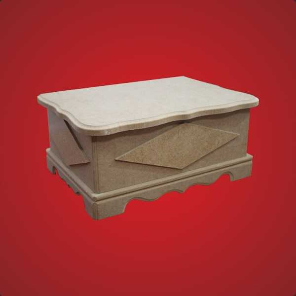 artebella ahsap mdf gobekli orta kutu kt 02 21x15x95 cm 597984 12 B -Artebella Art & Craft Hobi ve Sanat Ürünleri