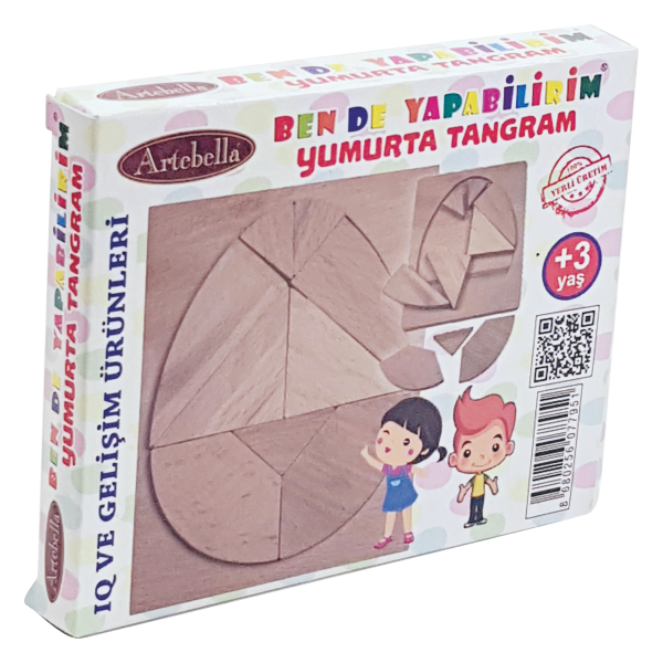 artebella ahsap yumurta tangram 610162 14 B -Artebella Art & Craft Hobi ve Sanat Ürünleri