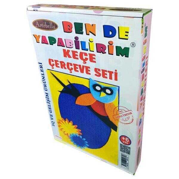 artebella ben de yapabilirim kece cerceve seti ksc 05 598200 14 B -Artebella Art & Craft Hobi ve Sanat Ürünleri