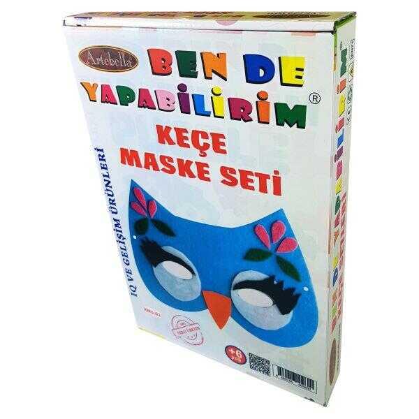 artebella ben de yapabilirim kece maske seti ksm 03 601489 14 B -Artebella Art & Craft Hobi ve Sanat Ürünleri