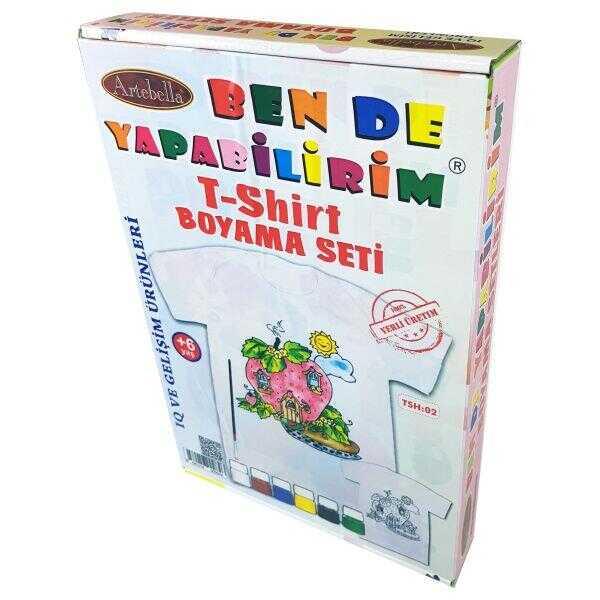 artebella ben de yapabilirim t shirt boyama seti tsh 02 598208 14 B -Artebella Art & Craft Hobi ve Sanat Ürünleri
