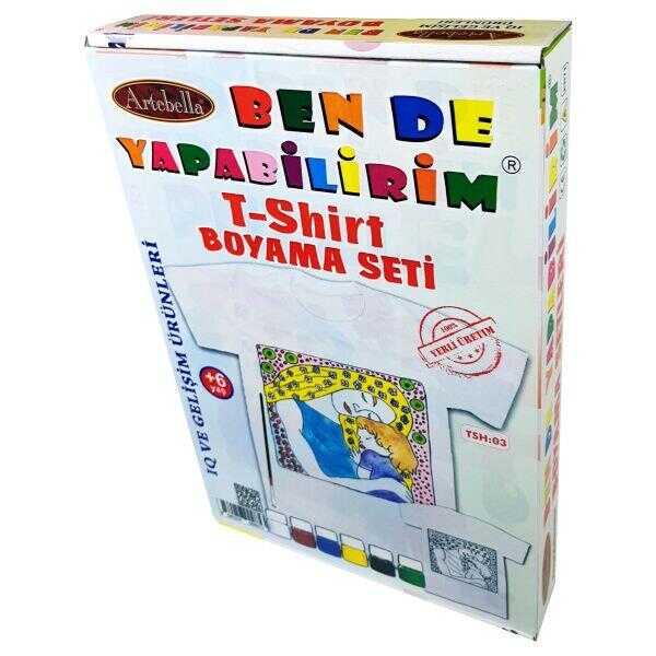 artebella ben de yapabilirim t shirt boyama seti tsh 03 598394 14 B -Artebella Art & Craft Hobi ve Sanat Ürünleri