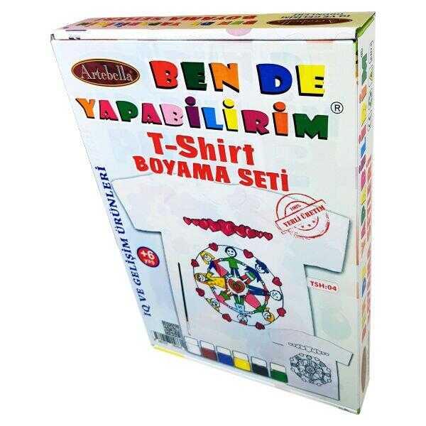 artebella ben de yapabilirim t shirt boyama seti tsh 04 598212 14 B -Artebella Art & Craft Hobi ve Sanat Ürünleri