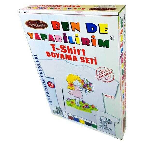 artebella ben de yapabilirim t shirt boyama seti tsh 05 598398 14 B -Artebella Art & Craft Hobi ve Sanat Ürünleri