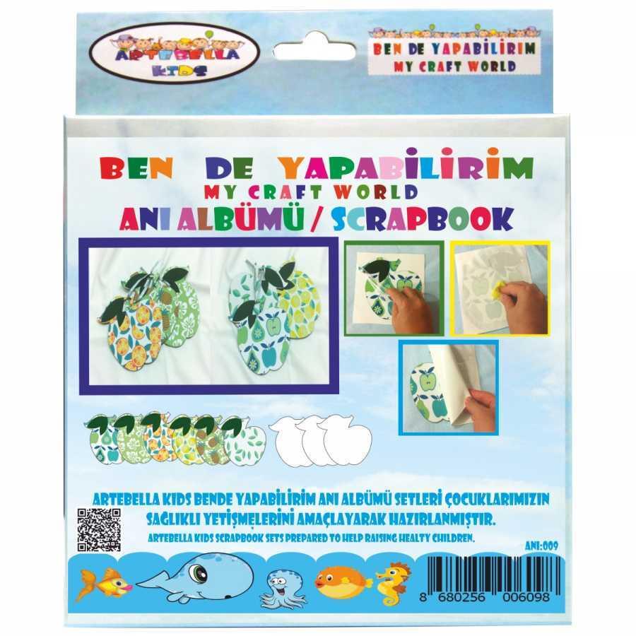 artebella bende yapabilirim scrapbook ani albumu seti 10 598236 42 B -Artebella Art & Craft Hobi ve Sanat Ürünleri
