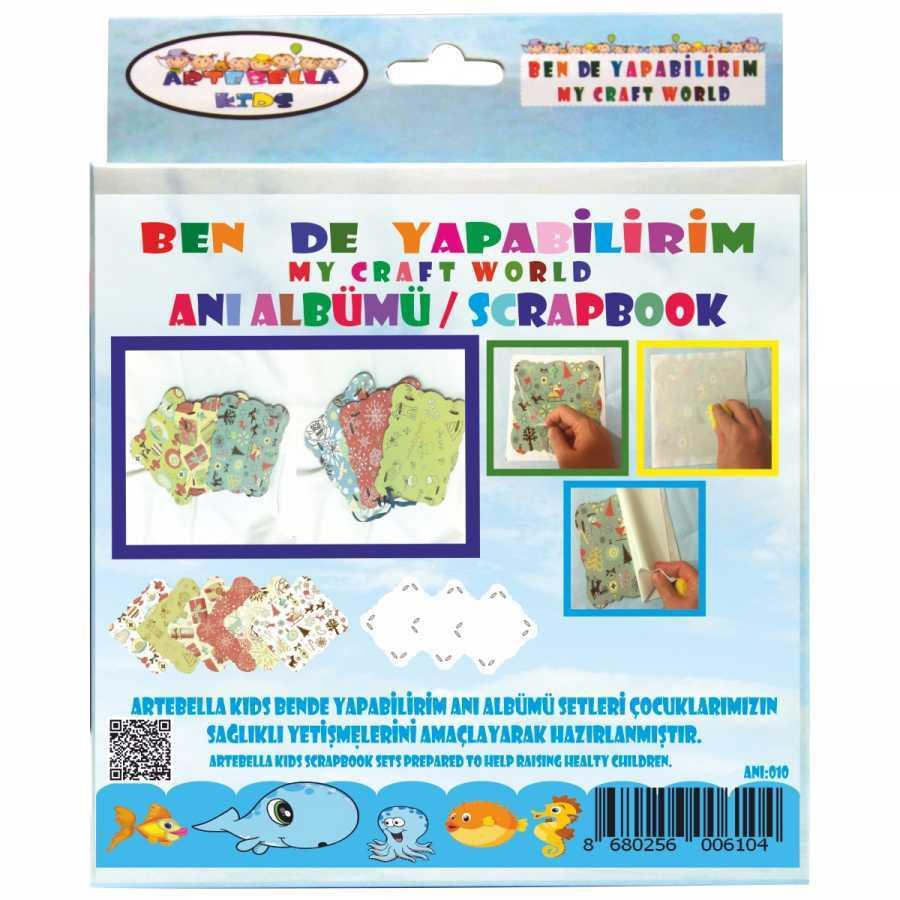 artebella bende yapabilirim scrapbook ani albumu seti 11 598237 42 B -Artebella Art & Craft Hobi ve Sanat Ürünleri