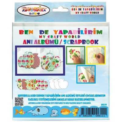 artebella bende yapabilirim scrapbook ani albumu seti 13 598239 42 B -Artebella Art & Craft Hobi ve Sanat Ürünleri