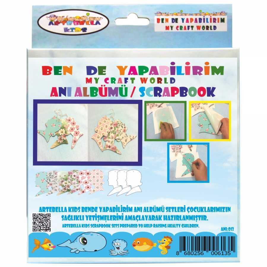 artebella bende yapabilirim scrapbook ani albumu seti 14 598240 42 B -Artebella Art & Craft Hobi ve Sanat Ürünleri