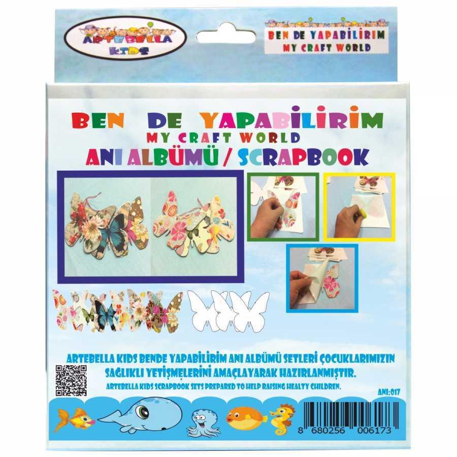 artebella bende yapabilirim scrapbook ani albumu seti 18 598243 42 B -Artebella Art & Craft Hobi ve Sanat Ürünleri