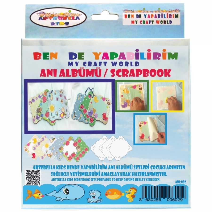 artebella bende yapabilirim scrapbook ani albumu seti 2 598229 42 B -Artebella Art & Craft Hobi ve Sanat Ürünleri