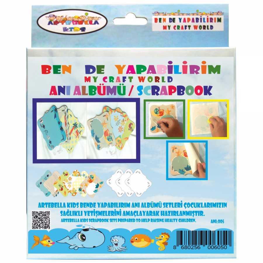 artebella bende yapabilirim scrapbook ani albumu seti 5 598232 42 B -Artebella Art & Craft Hobi ve Sanat Ürünleri