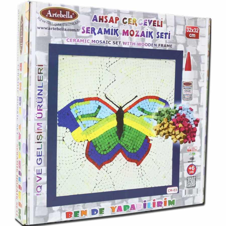 artebella bende yapabilirim seramik mozaik cm 03 610707 14 B -Artebella Art & Craft Hobi ve Sanat Ürünleri