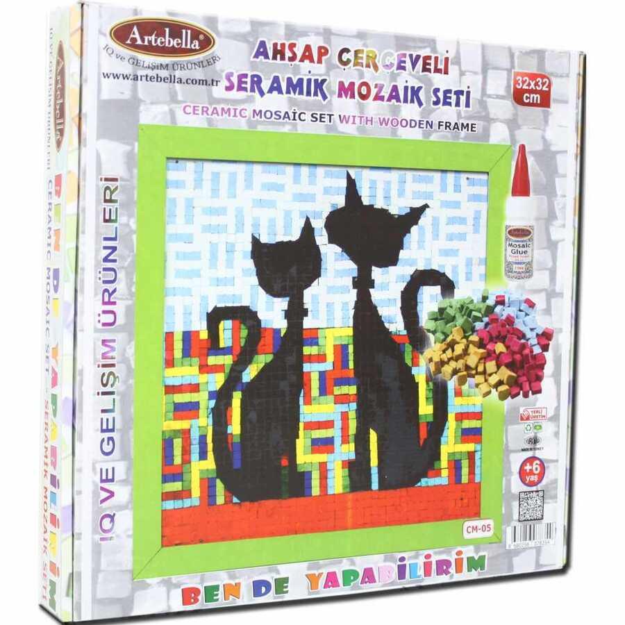 artebella bende yapabilirim seramik mozaik cm 05 610719 14 B -Artebella Art & Craft Hobi ve Sanat Ürünleri