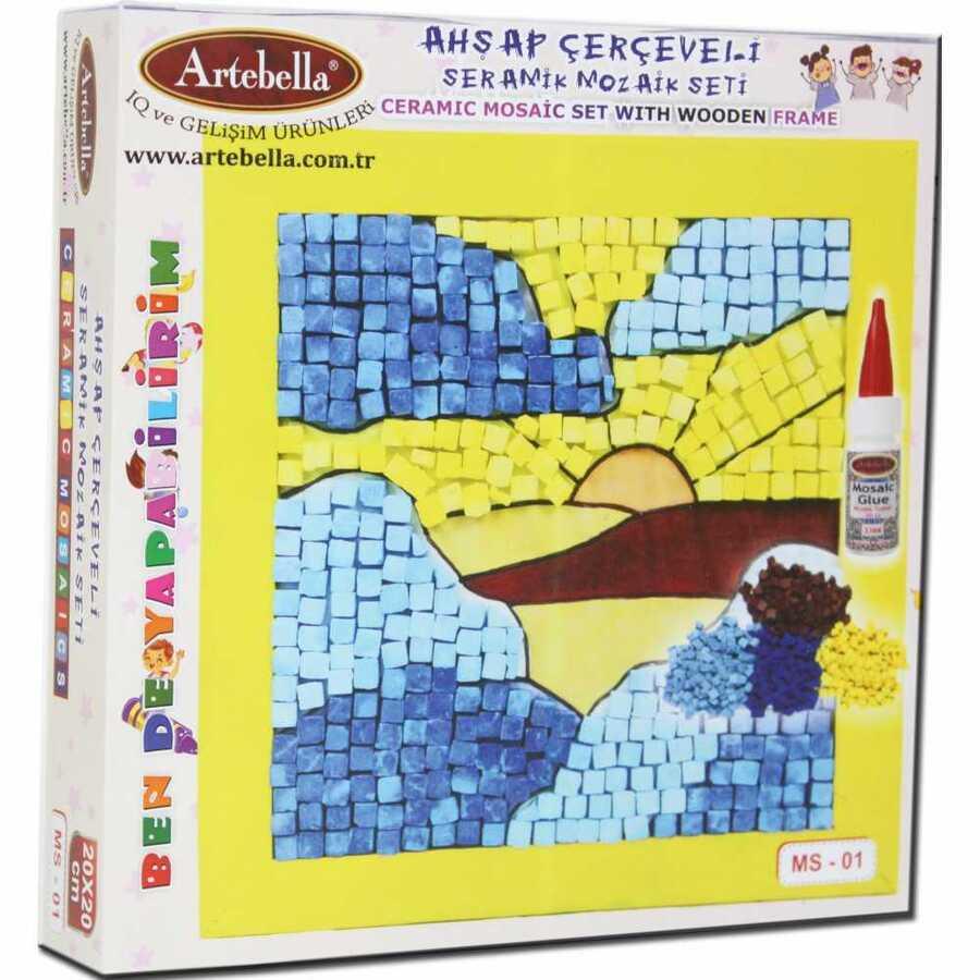 artebella bende yapabilirim seramik mozaik seti ms 01 606083 14 B -Artebella Art & Craft Hobi ve Sanat Ürünleri