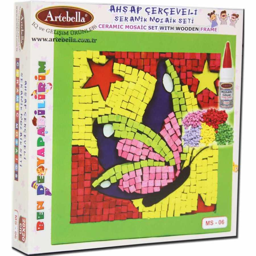 artebella bende yapabilirim seramik mozaik seti ms 06 610665 14 B