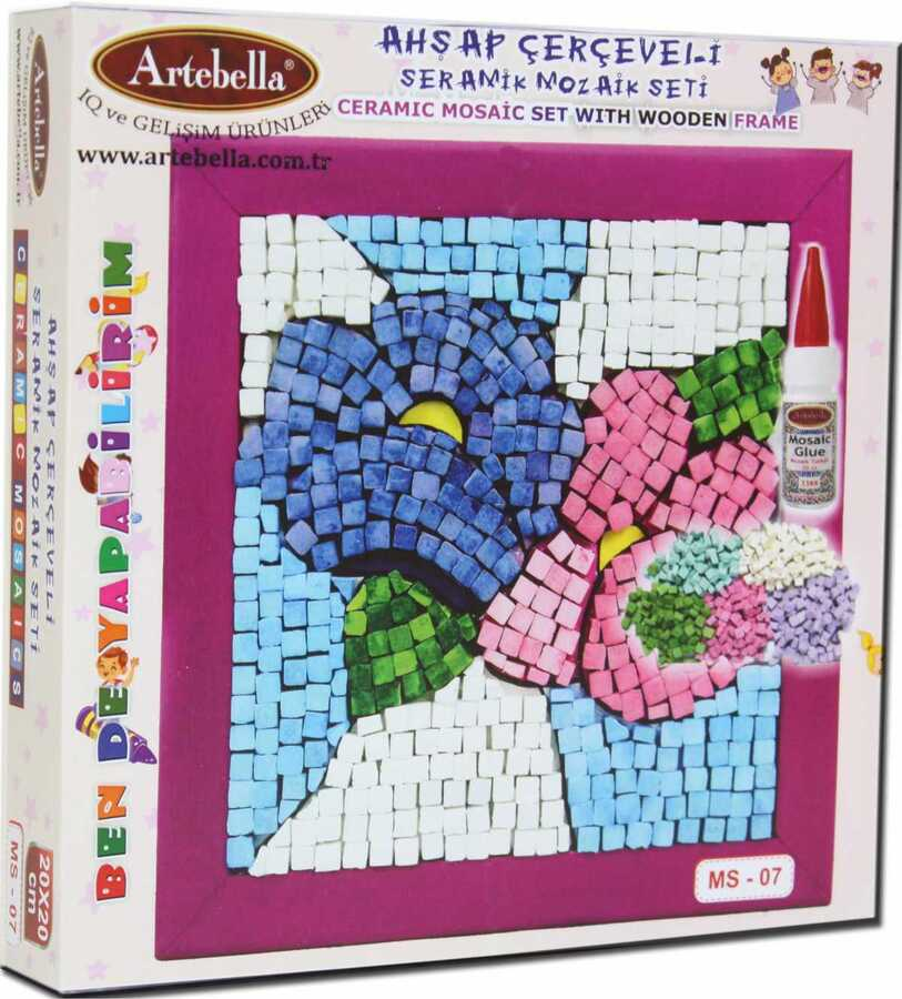 artebella bende yapabilirim seramik mozaik seti ms 07 610113 14 B -Artebella Art & Craft Hobi ve Sanat Ürünleri
