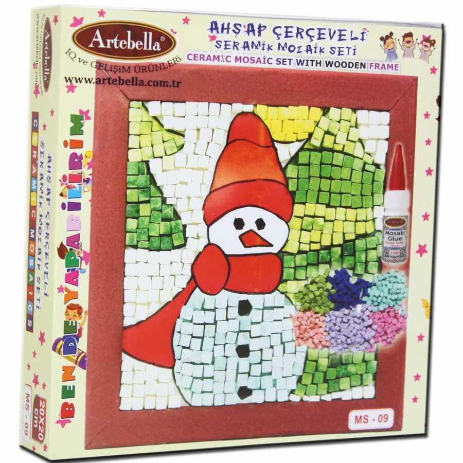 artebella bende yapabilirim seramik mozaik seti ms 09 609570 14 B -Artebella Art & Craft Hobi ve Sanat Ürünleri