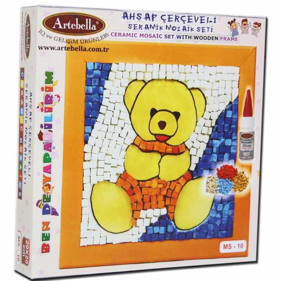 artebella bende yapabilirim seramik mozaik seti ms 10 599871 14 B -Artebella Art & Craft Hobi ve Sanat Ürünleri