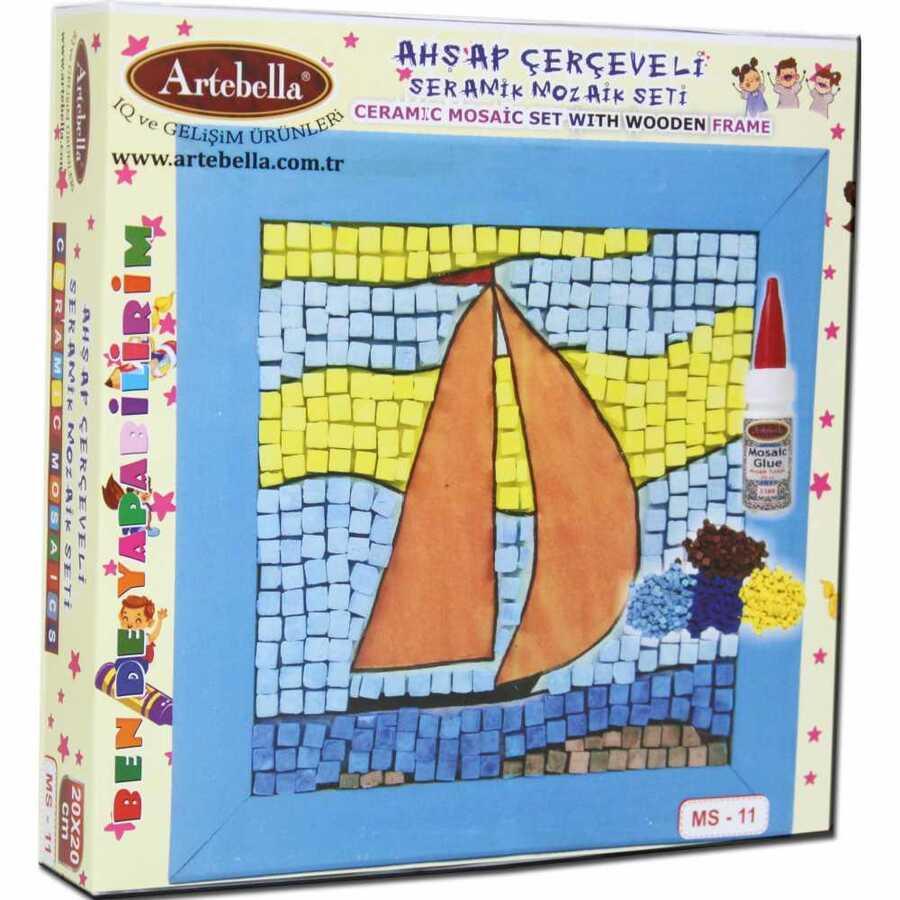 artebella bende yapabilirim seramik mozaik seti ms 11 610671 14 B -Artebella Art & Craft Hobi ve Sanat Ürünleri