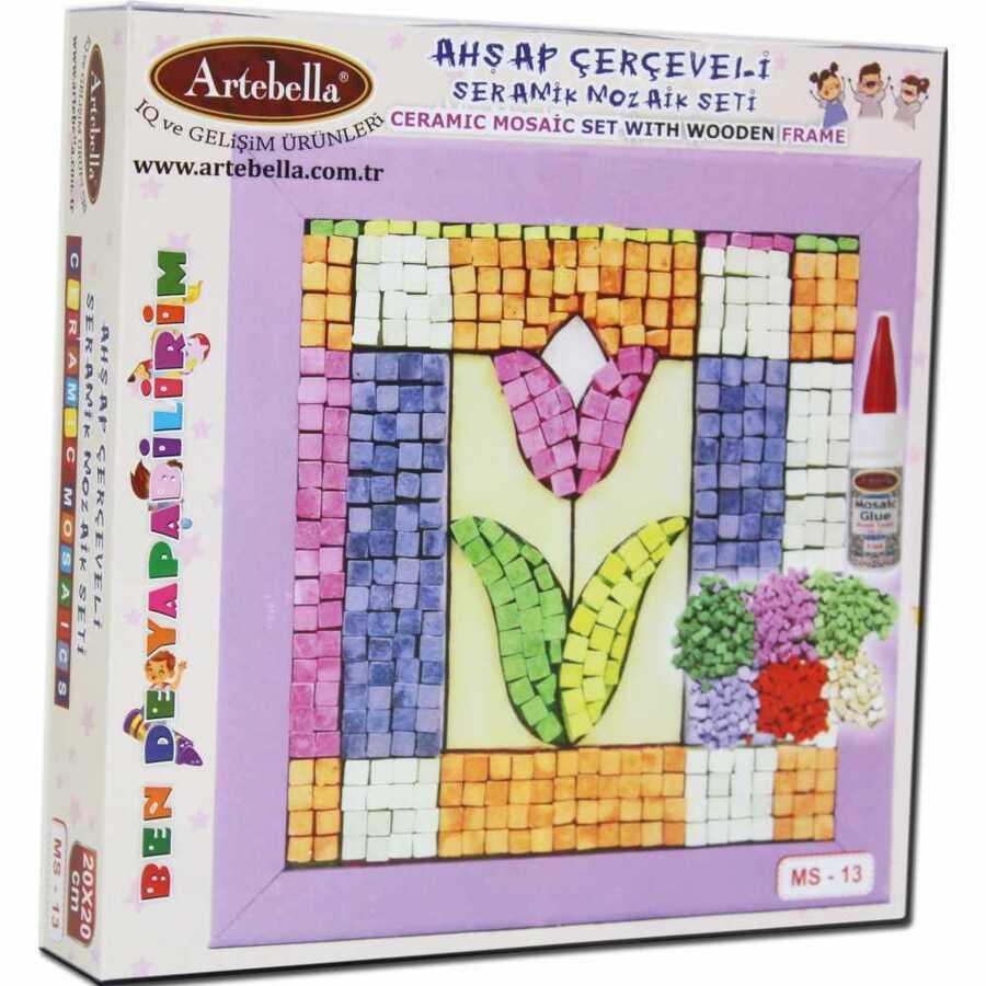 artebella bende yapabilirim seramik mozaik seti ms 13 610677 14 B -Artebella Art & Craft Hobi ve Sanat Ürünleri
