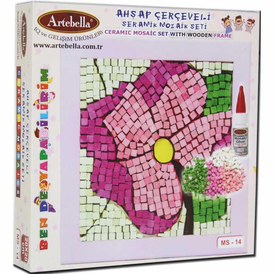 artebella bende yapabilirim seramik mozaik seti ms 14 606150 14 B -Artebella Art & Craft Hobi ve Sanat Ürünleri