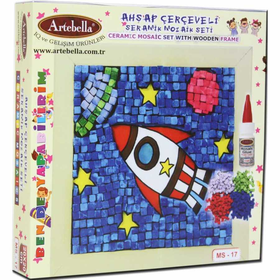 artebella bende yapabilirim seramik mozaik seti ms 17 610689 14 B