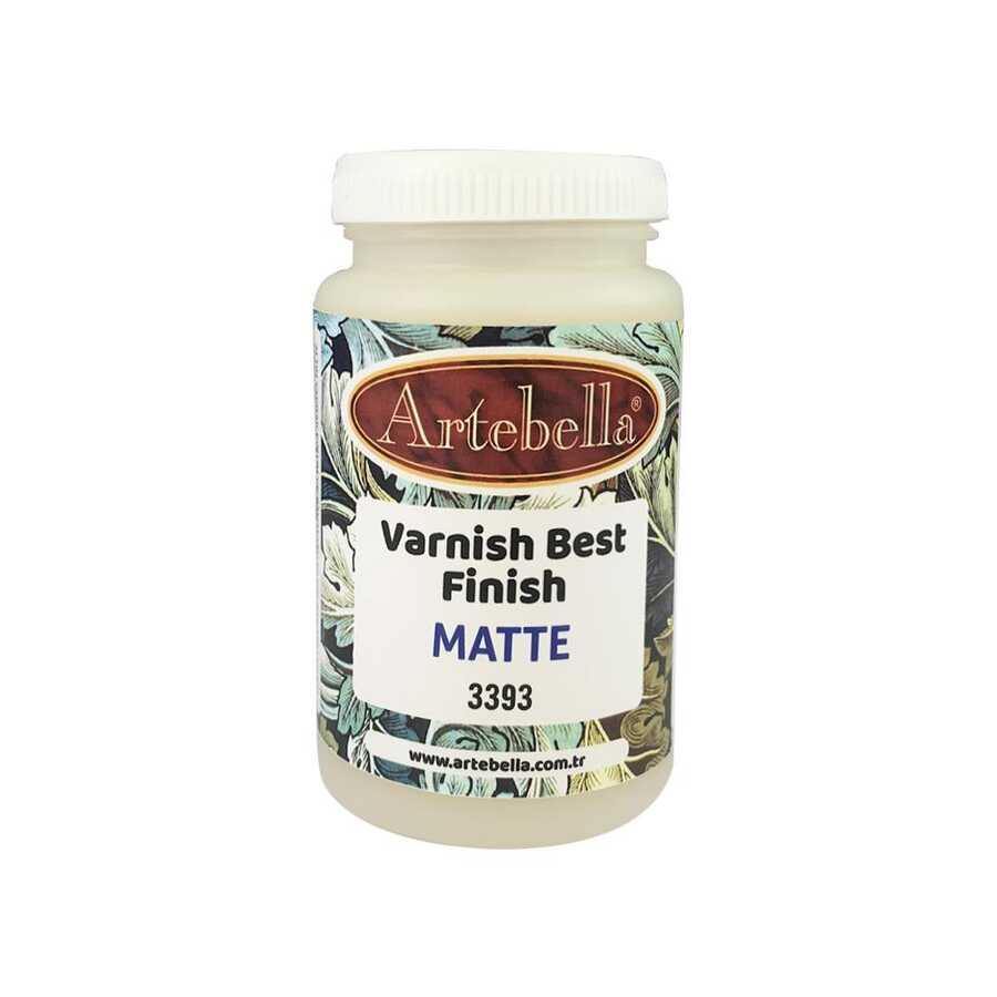 artebella best finish matte varnish 250 cc 3393 607035 14 B -Artebella Art & Craft Hobi ve Sanat Ürünleri