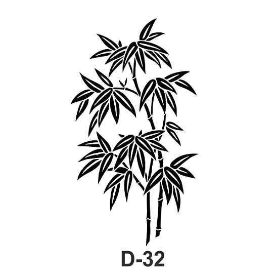 artebella d 32 stencil d serisi 20x30 cm 611270 54 B -Artebella Art & Craft Hobi ve Sanat Ürünleri