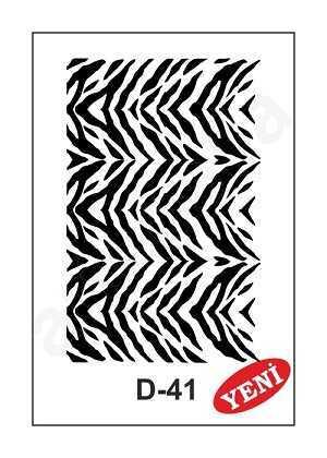 artebella d 41 stencil d serisi 20x30 cm 597310 35 B