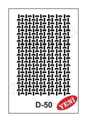 artebella d 50 stencil d serisi 20x30 cm 602013 35 B