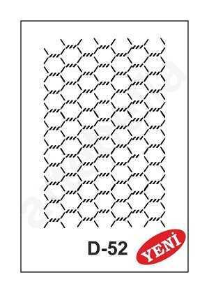artebella d 52 stencil d serisi 20x30 cm 609297 35 B