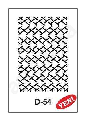 artebella d 54 stencil d serisi 20x30 cm 610965 35 B