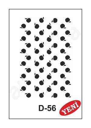 artebella d 56 stencil d serisi 20x30 cm 597328 35 B