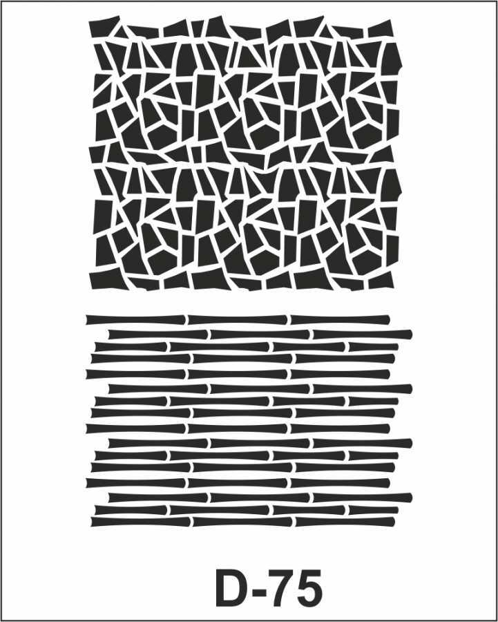 artebella d 75 stencil d serisi 20x30 cm 609301 35 B