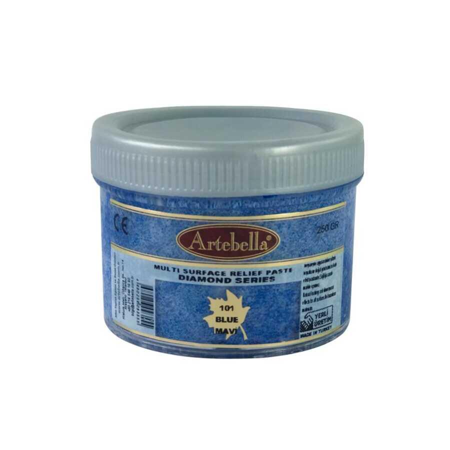 artebella diamond serisi multi rolyef pasta 101 mavi 250 gr 597514 14 B -Artebella Art & Craft Hobi ve Sanat Ürünleri