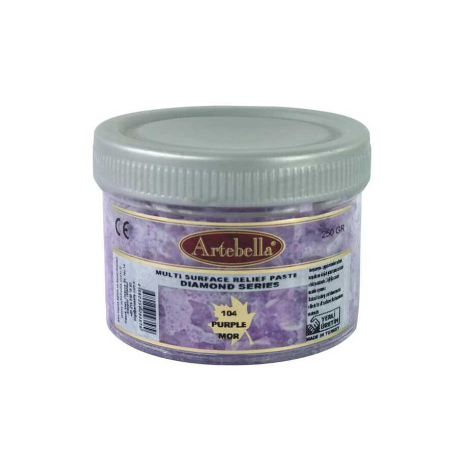 artebella diamond serisi multi rolyef pasta 104 mor 250 gr 597510 14 B