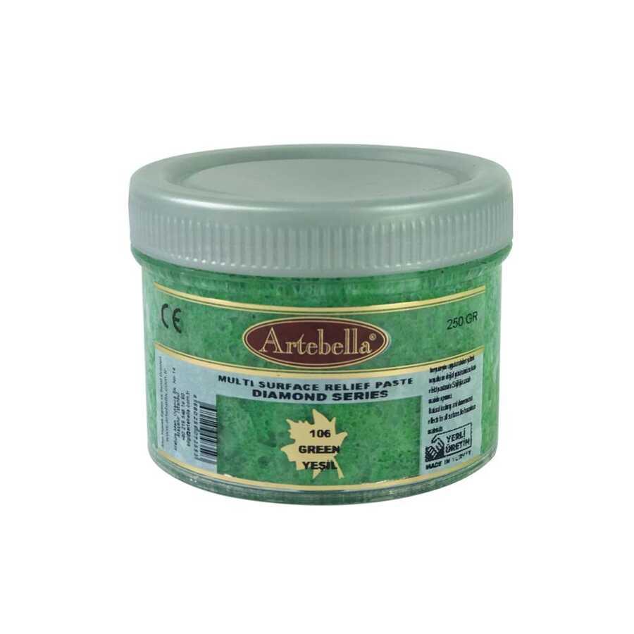 artebella diamond serisi multi rolyef pasta 106 yesil 250 gr 597506 14 B -Artebella Art & Craft Hobi ve Sanat Ürünleri