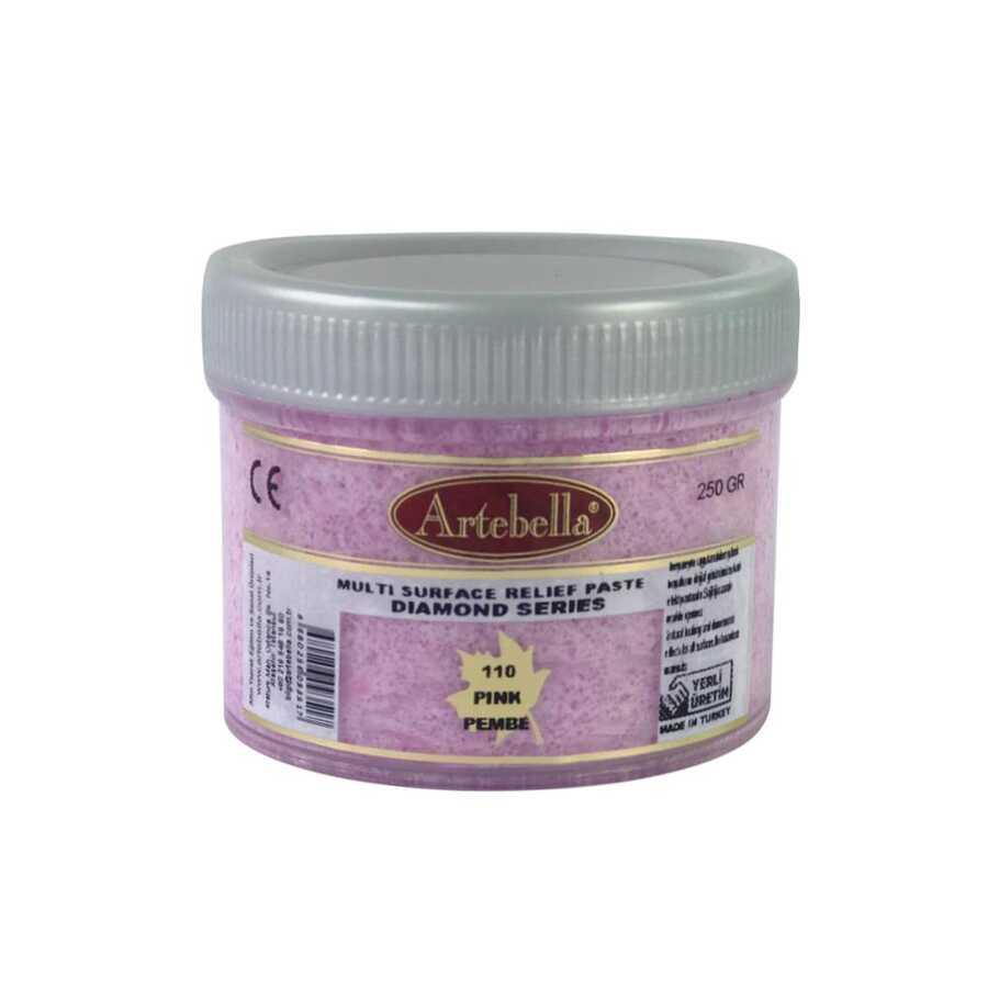 artebella diamond serisi multi rolyef pasta 110 pembe 250 gr 597520 14 B -Artebella Art & Craft Hobi ve Sanat Ürünleri